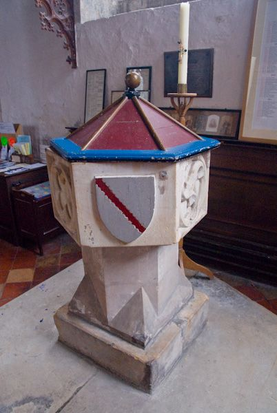 Rolvenden, St Mary the Virgin photo, The font