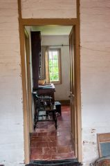 The rear passage to the kitchen