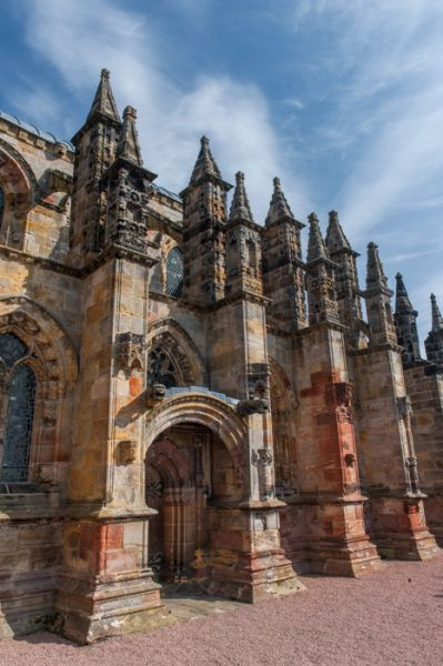 Rosslyn Chapel photo, The south facade