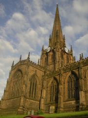Another view of Rotherham Minster (c) Warofdreams