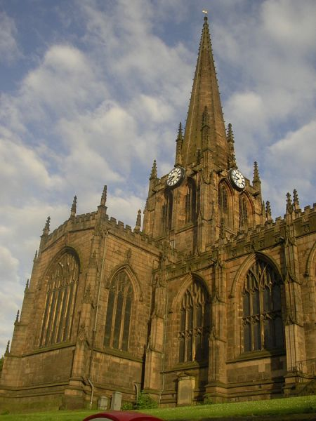 Rotherham photo, Another view of Rotherham Minster (c) Warofdreams