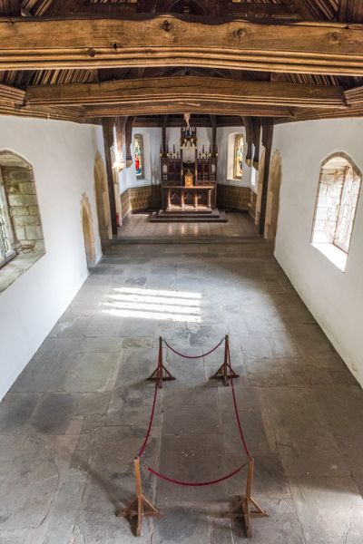 Rotherwas Chapel photo, The view from the west gallery
