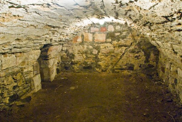 Rothesay Castle photo, Storage cellars