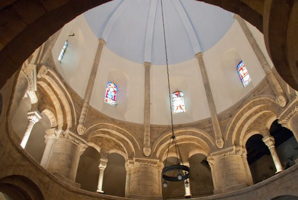 Round Church, Cambridge photo, The nave clerestory