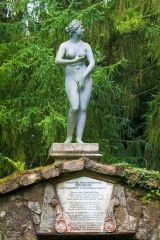 Rousham House and Garden, Statue of Diana