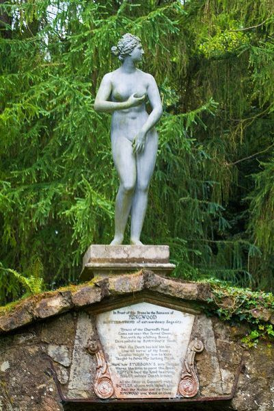Rousham House and Garden photo, Statue of Diana