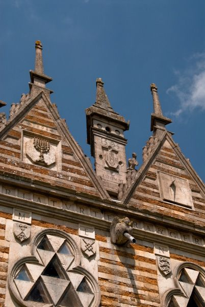 Rushton Triangular Lodge photo, Gables