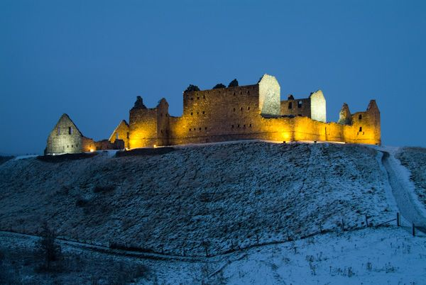 Cairngorms National Park - Photos and Historic Sites photo, Ruthven Barracks, Kingussie