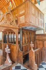The Norreys pew and gallery