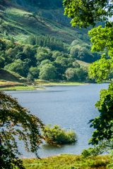 Rydal Water from the garden