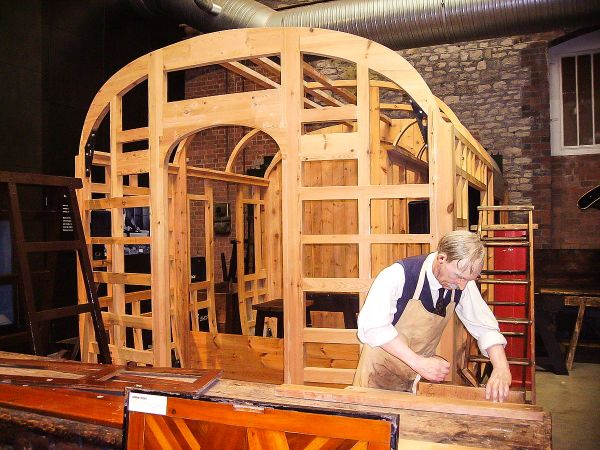 Steam - Museum of the Great Western Railway photo, Carriage making recreation (c) Ballista
