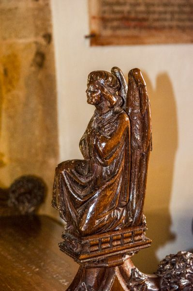 Salcombe Regis, St Mary & St Peter's Church photo, A beautifully carved bench end