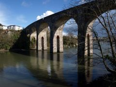 The Coombe Viaduct (c) Derek Harper