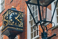 Boswell House clock