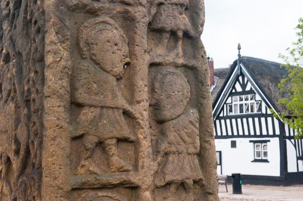 Sandbach Crosses photo, South cross 2