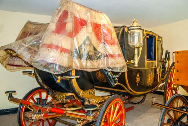 Sandringham photo, The State Landau in the Museum
