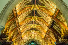 Sandringham, St Mary Magdalene church roof