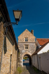 The 14th century Fisher Gate