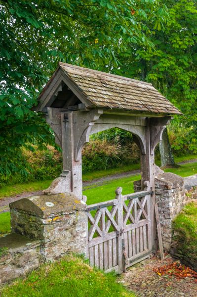 Satterleigh,  St Peter's Church photo, The WWI lych gate