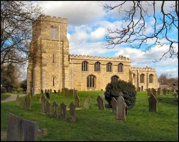 Saxilby photo, St Botloph's church (c) Brian
