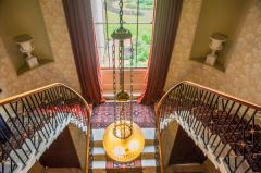 Scampston Hall, The double staircase
