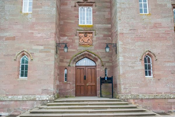 Scone Palace photo, The main Palace entrance