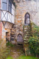 Tower stair and Elizabethan window
