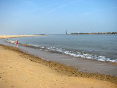 Sea Palling beach (c) Evelyn Simak