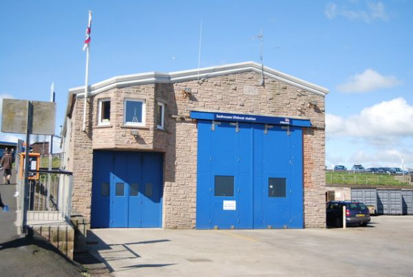 Seahouses photo, RNLI lifeboat station (c) N Chadwick