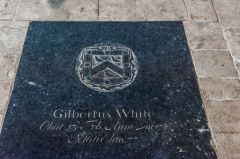 Gilbert White's grandfather's memorial