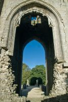 Shap Abbey, Abbey tower arch