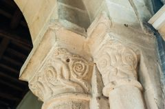 13th century chancel arch capitals