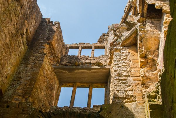 Sherborne Old Castle photo, The gateway tower interior