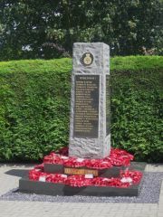 The village war memorial (c) Graham Robson