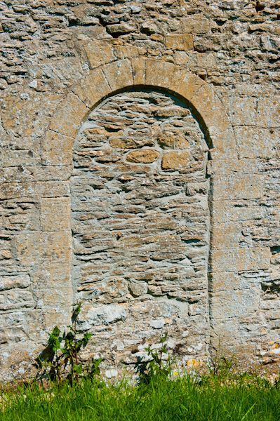 Shilton, Holy Rood Church photo, Blocked Norman doorway