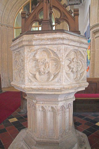 Shipton under Wychwood, St Mary the Virgin photo, The font