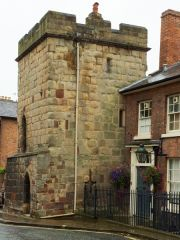 Shrewsbury Town Walls Tower, The tower