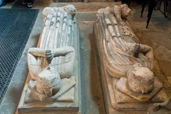 Shrewsbury Abbey photo, Effigies