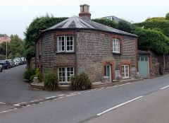 Sidmouth, Pebblestone Cottage toll house (c) jaggery