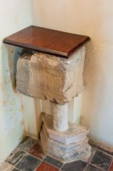 Silchester, St Mary's Church, Fragment of 12th century font