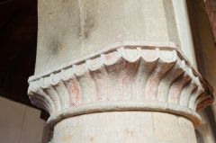Silchester, St Mary's Church, Nave column capital