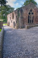 Skipton Castle, The medieval chapel
