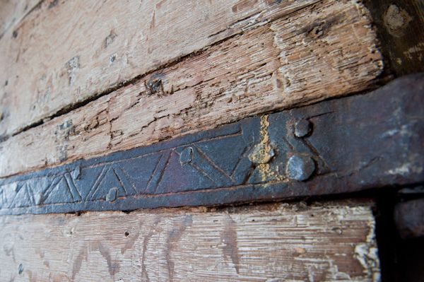 Skirlaugh, St Augustine's Church photo, Medieval iron door strap