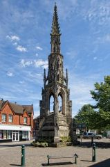 Sleaford, The Handley Monument (c) Dave Hitchborne