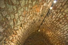 Smailholm Tower, Vaulted storage chamber