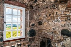 Smailholm Tower, An upstairs window