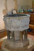 Smarden, St Michael the Archangel, The font