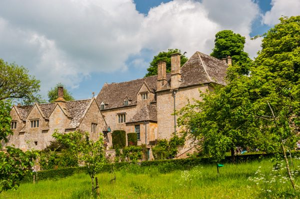 Snowshill Manor photo, The manor house from the orchard