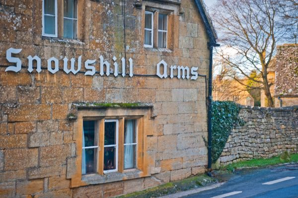 Snowshill photo, The Snowshill Arms public house