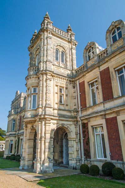Somerleyton Hall and Gardens photo, The ornate entrance porch